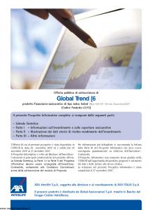 Axa Interlife - Global Trend 6 - Modello axa int 140 Edizione 11-2007 [57P]