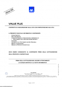 Axa Interlife - Value Plus - Modello axa int 114 Edizione 03-2008 [39P]
