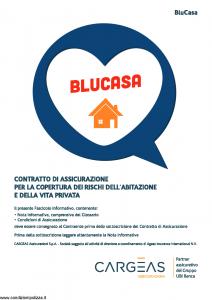 Cargeas - Blu Casa Assicurazione Per I Rischi Dell'Abitazione E Della Vita Privata - Modello 1489 Edizione 01-01-2016 [68P]