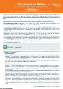 Cargeas - Blu Family Xl Dip Aggiuntivo Danni - Modello 1739a Edizione 01-01-2019 [10P]