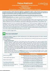 Cargeas - Blu Impresa Multirischi Dip Aggiuntivo Danni - Modello 1717a Edizione 01-01-2019 [13P]