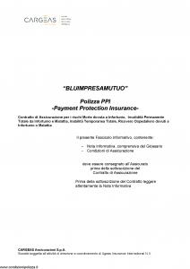 Cargeas - Blu Impresa Mutuo - Modello 1642 Edizione 23-02-2016 [32P]