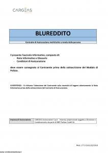 Cargeas - Blu Reddito - Modello 1771 Edizione 01-10-2018 [30P]