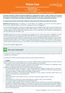 Cargeas - Famiglia Dip Aggiuntivo Danni - Modello 1748a Edizione 01-01-2019 [11P]