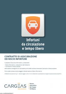 Cargeas - Infortuni Da Circolazione E Tempo Libero - Modello 1112 Edizione 01-09-2015 [28P]