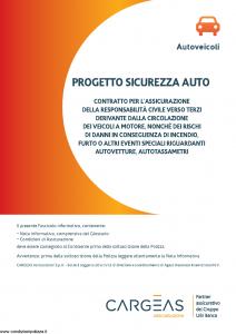 Cargeas - Progetto Sicurezza Auto Autoveicoli - Modello 1396 Edizione 01-08-2015 [96P]
