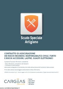 Cargeas - Scudo Speciale Artigiano - Modello 1115 Edizione 01-09-2015 [68P]