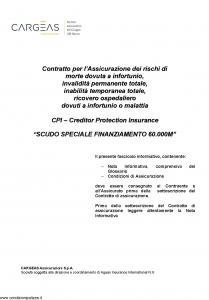 Cargeas - Scudo Speciale Finanziamento 60.000M - Modello 1480 Edizione 15-06-2015 [31P]