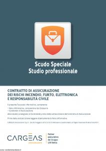Cargeas - Scudo Speciale Studio Professionale - Modello 1123 Edizione 01-10-2015 [40P]