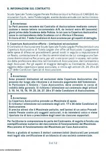 Cargeas - Scudo Speciale Tutela Legale Penale Professionista - Modello 1385 Edizione 01-10-2015 [32P]