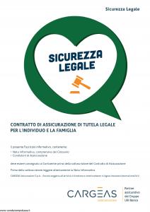 Cargeas - Sicurezza Legale - Modello 1321 Edizione 01-08-2015 [36P]