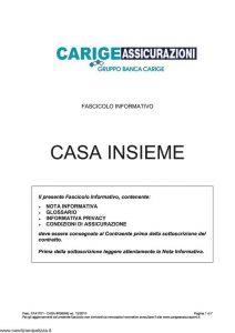Carige - Casa Insieme - Modello FA41701 Edizione 12-2010 [28P]
