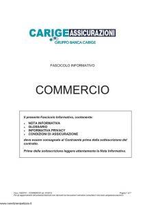 Carige - Commercio - Modello FB30701 Edizione 07-2012 [27P]