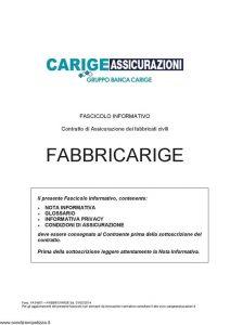 Carige - Fabbricarige - Modello FA34501 Edizione 01-02-2014 [29P]