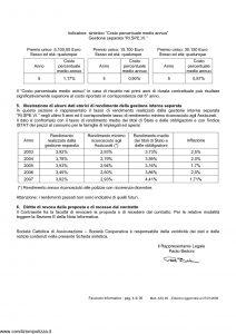 Cattolica - 5E10 Assicurazione Mista A Premio Unico - Modello as3-28 Edizione 27-01-2009 [36P]