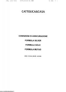 Cattolica - Cattolica & Casa - Modello ccasa-2b Edizione 04-2009 [SCAN] [45P]
