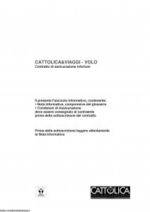 Cattolica - Cattolica & Viaggi Volo - Modello cviaggi-volo-5 Edizione 31-05-2017 [8P]