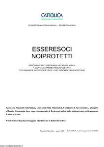 Cattolica - Essere Soci Noi Protetti - Modello esnp 28 Edizione 20-10-2008 [37P]