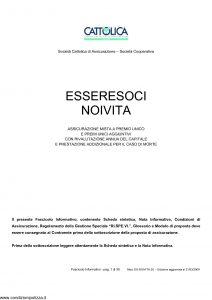 Cattolica - Essere Soci Noi Vita - Modello es noivita 28 Edizione 31-03-2009 [35P]