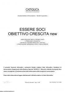 Cattolica - Essere Soci Obiettivo Crescita New - Modello ocesn-28 Edizione 01-2006 [36P]