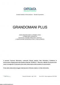 Cattolica - Gran Domani Plus - Modello gdp-28 Edizione 02-01-2008 [35P]