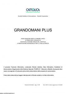 Cattolica - Grandomani Plus - Modello gdp 28 Edizione 31-03-2008 [35P]