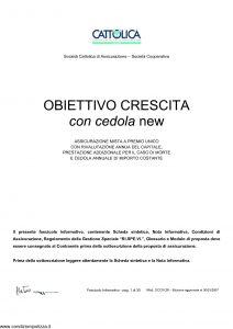 Cattolica - Obiettivo Crescita Con La Cedola New - Modello occn 28 Edizione 30-03-2007 [35P]