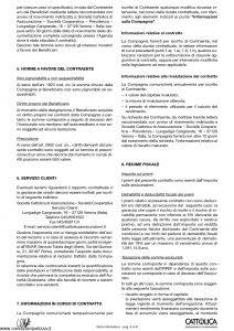Cattolica - Obiettivo Crescita Nota Informativa 2004 - Modello oc5 Edizione 08-2004 [8P]