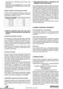 Cattolica - Obiettivo Facile Nota Informativa 2004 - Modello of5 Edizione 12-2004 [8P]
