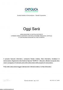 Cattolica - Oggi Sara' - Modello os 28 Edizione 12-2005 [47P]