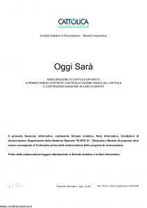 Cattolica - Oggi Sara' - Modello os 28 Edizione 30-03-2006 [48P]
