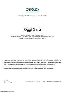 Cattolica - Oggi Sara' - Modello os 28 Edizione 30-03-2007 [48P]