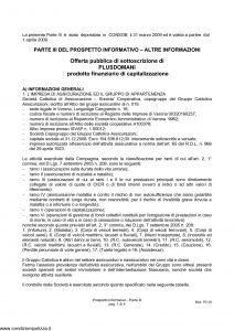 Cattolica - Plus Domani Parte 3 - Modello ac001 Edizione 31-03-2009 [4P]