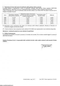 Cattolica Previdenza - Cattolica Previdenza Per Investimento Noi Futuro - Modello dipcp Edizione 31-05-2013 [34P]