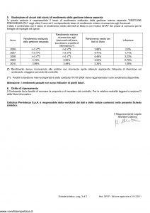 Cattolica Previdenza - Cattolica Previdenza Per Investimento Noi Futuro - Modello dipcp Edizione 31-12-2011 [33P]
