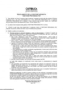 Cattolica Previdenza - Gestione Previdenza Piu' - Modello nd Edizione nd [3P]