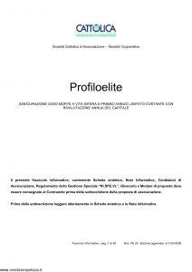 Cattolica - Profilo Elite - Modello pe 28 Edizione 31-03-2008 [46P]