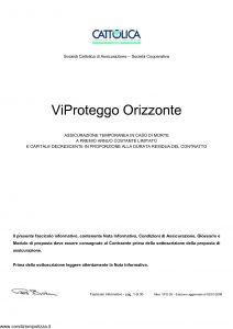 Cattolica - Vi Proteggo Orizzonte - Modello vpo 28 Edizione 02-01-2008 [26P]