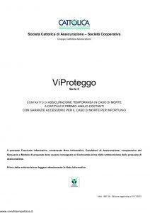 Cattolica - Vi Proteggo Serie 2 - Modello 1887 28 Edizione 01-12-2010 [26P]