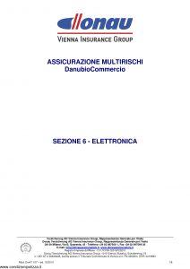 Donau - Multirischi Danubio Commercio Elettronica - Modello Donit 107 Edizione 12-2010 [8P]