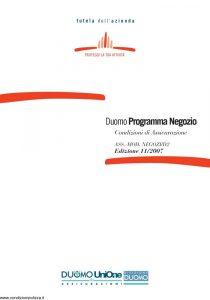 Duomo - Duomo Programma Negozio - Modello negozi-d2 Edizione 11-2007 [57P]