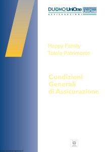 Duomo Unione Assicurazioni - Happy Family Tutela Patrimonio - Modello 403.103 Edizione 01-2009 [42P]