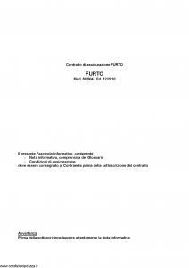Fata - Furto - Modello 50-504 Edizione 12-2010 [37P]