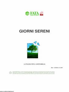 Fata - Giorni Sereni - Modello 14-508 Edizione 01-2007 [12P]