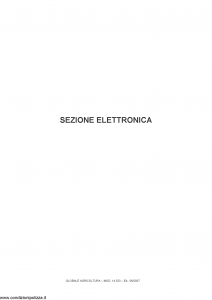 Fata - Globale Agricoltura Sezione Elettronica - Modello 14533 Edizione 06-2007 [14P]
