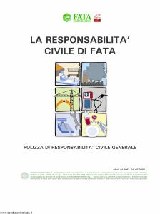 Fata - La Responsabilita' Civile Di Fata Cinema Teatri - Modello 14-506 Edizione 05-2007 [13P]