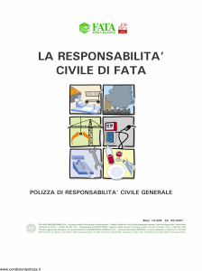 Fata - La Responsabilita' Civile Di Fata Gpl - Modello 14-506 Edizione 05-2007 [14P]