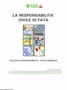 Fata - La Responsabilita' Civile Di Fata Riserve Di Pesca - Modello 14-506 Edizione 05-2007 [13P]