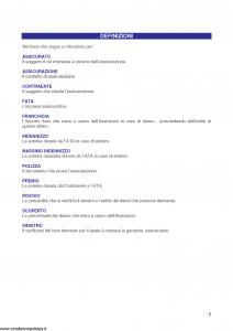Fata - Polizza Abbinata Incendio E Furto - Modello 12-525 Edizione 11-2005 [34P]