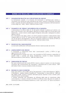 Fata - Polizza All Risks Impianti Fotovoltaici - Modello 12-545 Edizione 01-2008 [19P]